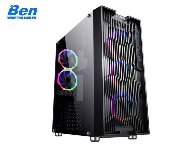 Case Sama Atom Air, full size ATX