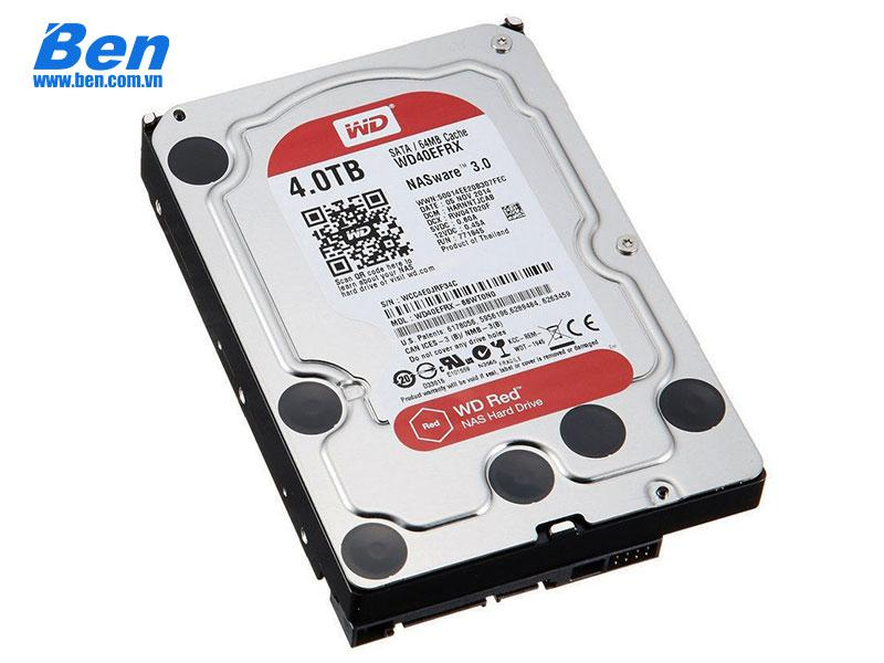 Ổ cứng gắn trong Western Red Pro 4TB 3.5 SATA3 / 128MB Cache /7200rpm