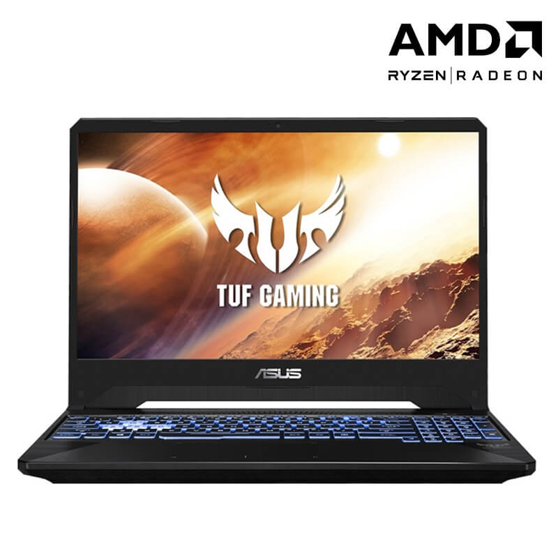Laptop Asus TUF Gaming FX505DT-HN488T/ Grey/ AMD R5-3550H/ Ram 8GB DDR4/ SSD 512GB/ NVIDIA Geforce GTX 1650 4GB DDR5/ 15.6 inch FHD 144Hz/ 3Cell/ Win 10SL/ 2Yrs