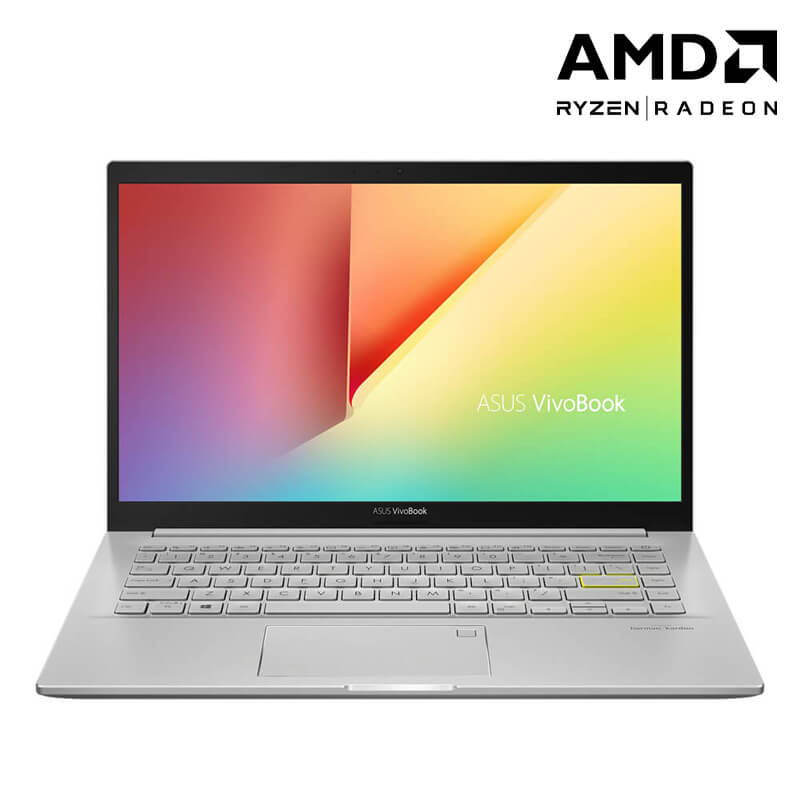 Laptop Asus Vivobook M413IA/ Sliver/  AMD Ryzen 7-4700U (2.0 GHz, 8MB)/ RAM  8GB/ 1TB SSD/ AMD Radeon Graphics/ 14 inch FHD/ FP/ 3 Cell/ Win 10H/ 2 Yrs