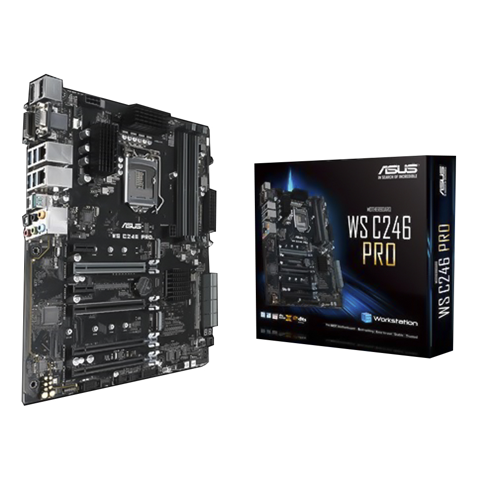 Bo mạch chủ Mainboard Asus WS C246 PRO