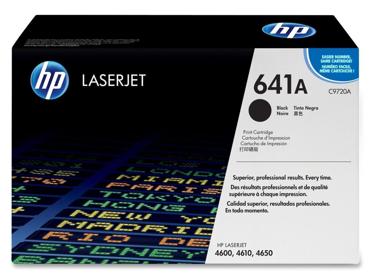 Mực in HP 641 Black Print Cartridge (C9720A)