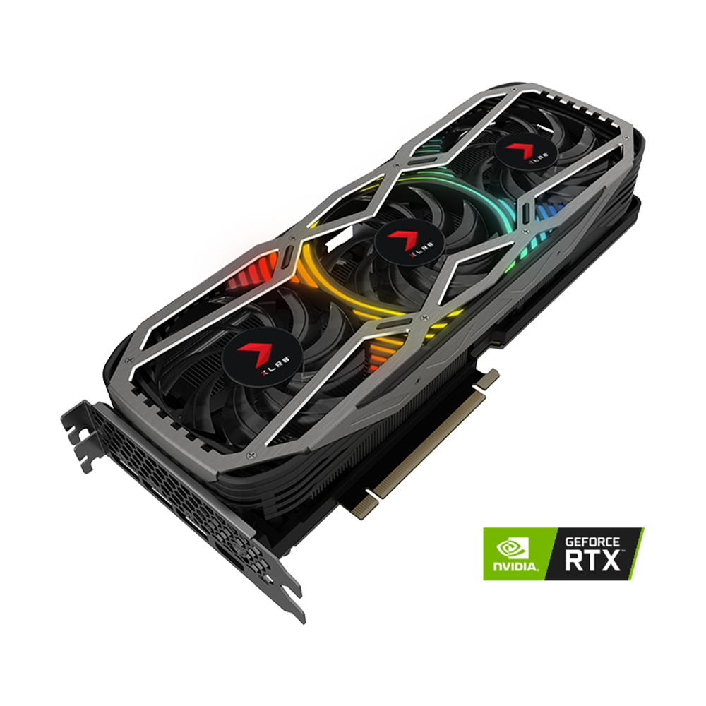 Card màn hình PNY RTX 3070 8GB REVEL EPIC-X RGB Triple Fan Edition