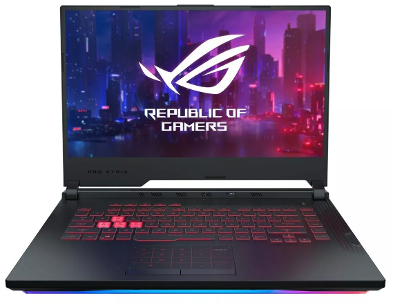 Laptop Asus Gaming ROG STRIX G531GT-HN554T/ Black/ Intel core i7-9750H/ Ram 8GB DDR4/ SSD 512GB/ NVIDIA Geforce GTX 1650 4GB/ 15.6 inch FHD 144Hz/ 3Cell/ Win 10SL/ 2Yrs
