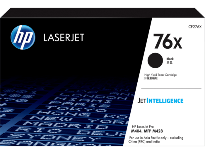 Mực in HP 76X Black Original LaserJet Toner Cartridge (CF276X)