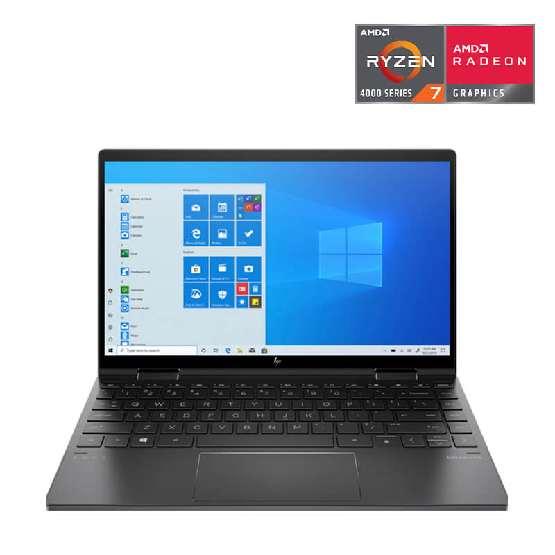 Laptop HP ENVY x360 Convertible (171N3PA)/ Black/ AMD Ryzen R7-4700U)/ Ram 8GB(1x8GB) DDR4/ SSD 256GB/ 13.3 inch FHD Touch/ FP + HP Stylus Pen/ 3Cell/ Win10H