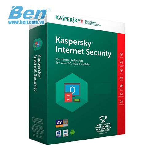 Kaspersky Internet Security (1User) 1PC - 1year