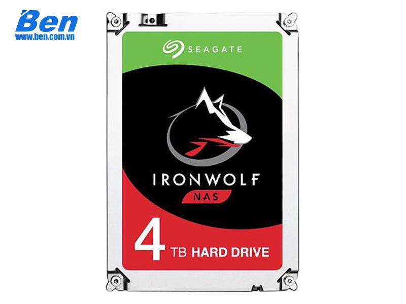 Ổ cứng gắn trong Seagate IronWolf 4TB 3.5 SATA/ 5900 rpm/ 64Mb cache (6Gb/s)