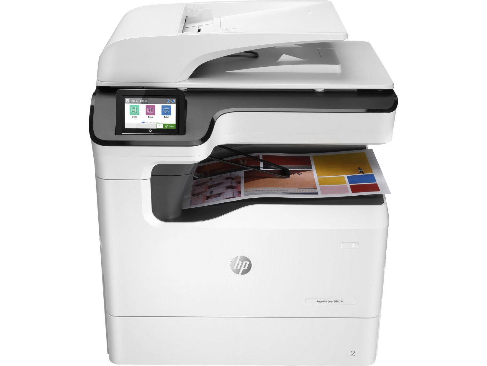 Máy in HP Color PageWide MFP 774dns 4PZ44A