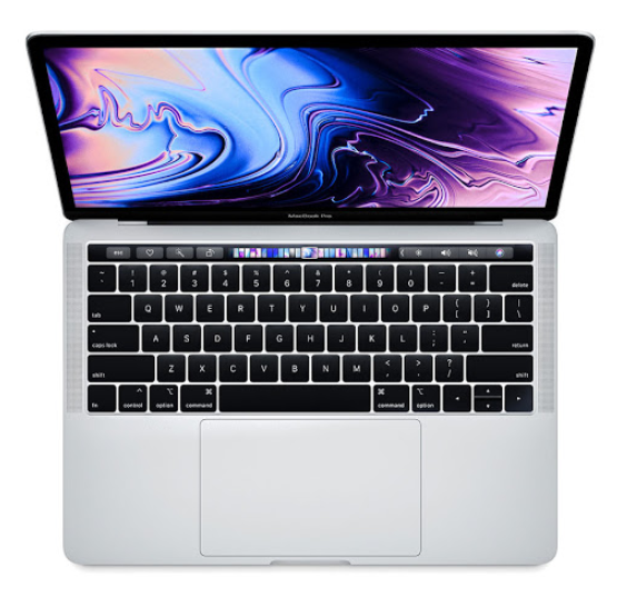 Laptop Apple Macbook Pro 13 MXK72SA/A/ Silver/ Intel Core i5 1.4GHz quad-core/ Ram 8GB/ SSD 512GB/ Intel Iris Plus Graphics/ 13.3 inch/ Mac OS/ 1Yr