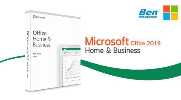 Microsoft Office Home and Business 2019 - chính hãng