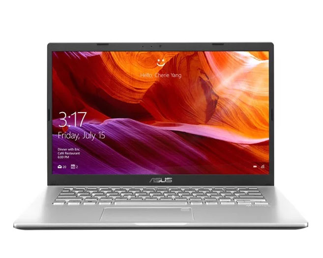 Laptop Asus Vivobook X409JA-EK237T/ Silver/ Intel core i3-1005G1 (1.20GHz, 4MB)/ RAM 4GB DDR4/ SSD 256GB/ Intel UHD Graphics/ 14.0 inch FHD/ Win 10/ 2Yrs