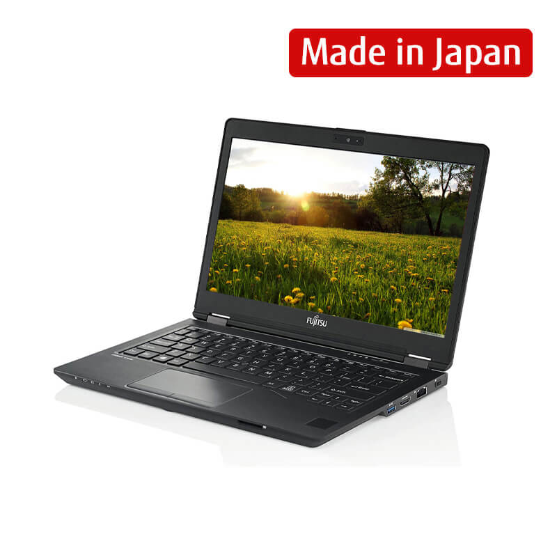 Laptop Fujitsu LIFEBOOK U729 (42LU7290001)/ Intel Core i5-8265U (1.60GHz, 6MB)/ Ram 8GB DDR4/ SSD 512GB/ Intel UHD Graphics/ 12.5 inch FHD Touch/ PalmSecureModule/ 3Cell/ No OS/ 1Yr