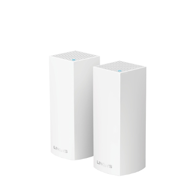 LINKSYS VELOP WHW0302-AH TRI-BAND AC4400 INTELLIGENT MESH WIFI SYSTEM WIFI 5 MU-MIMO SYSTEM 2-P