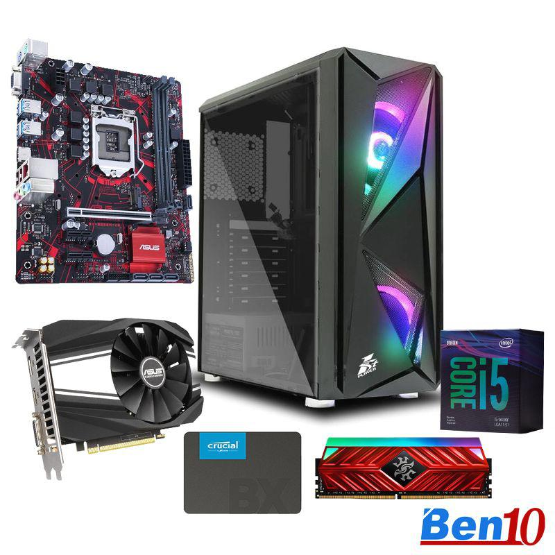 PC Ben10 Gaming AS04/ B460M/Core I5/ RAM 8GB/ SSD 240GB/ GTX1660/ 500W