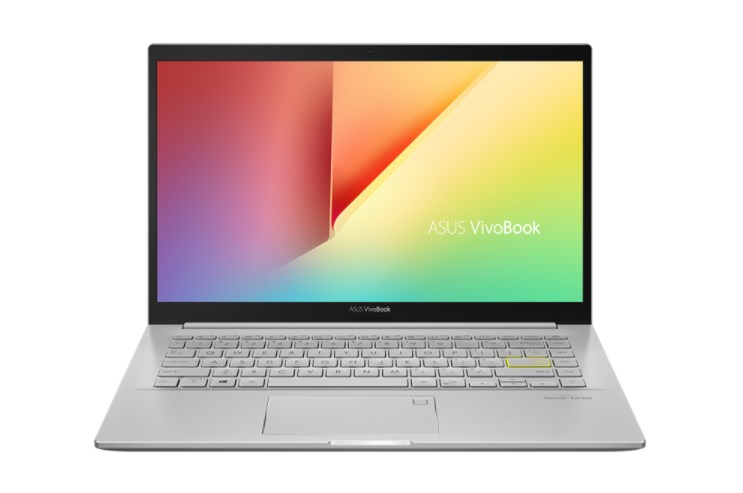 Laptop ASUS Vivobook A415EA-EB357T/ Sliver/ Intel Core i5-1135G7 (up to 4.20 Ghz, 8MB)/ RAM 8GB DDR4/ 512GB SSD/ Intel Iris Xe Graphics/ 14 inch FHD/ FP/ 3 Cell/ Win 10H/ 2 Yrs