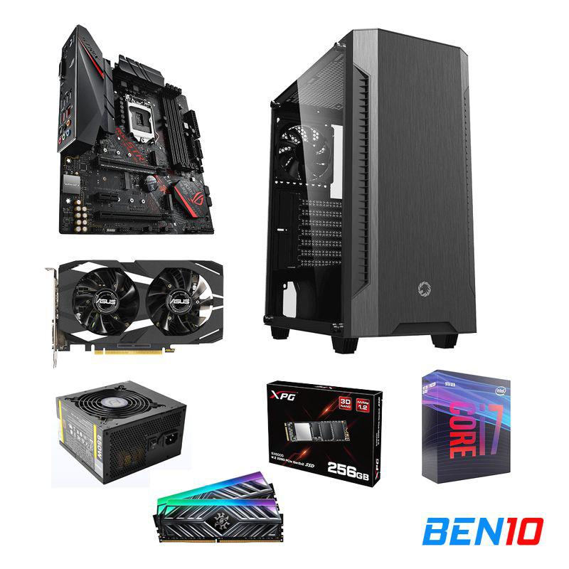 PC BEN10 AS05 - B365/I7/16GB/SSD 256GB /GTX 1650