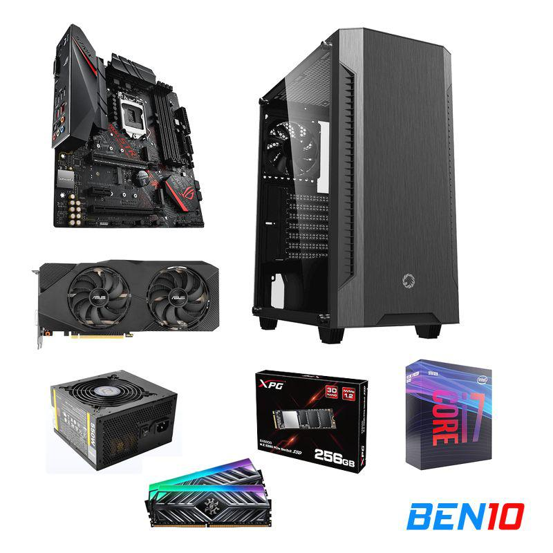 PC BEN10 AS06 - B365/I7/16GB/SSD 256GB /RTX 2060