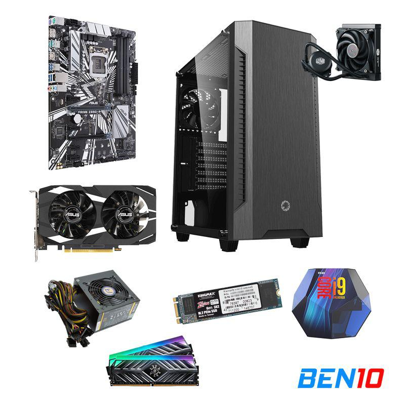 PC BEN10 AS07 - Z390/I9/16GB/SSD 512GB /RTX 2060