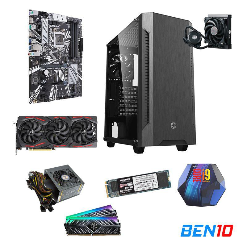 PC BEN10 AS08 - Z390/I9/16GB/SSD 512GB /RTX 2070