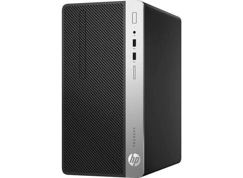 HP ProDesk 400 G6 MT (7YT41PA)/ Black/ Intel Pentium Gold Processor G5420 (3.80GHz, 4MB)/ Ram 4GB DDR4/ SSD 256GB/ DVDRW/ Intel UHD Graphics/ Key & Mouse/ DOS/ 1Yr