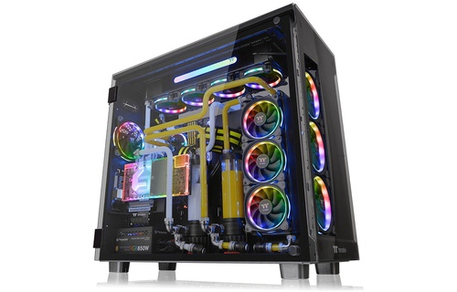 Vỏ Case Thermaltake View 91 Tempered Glass RGB Edition