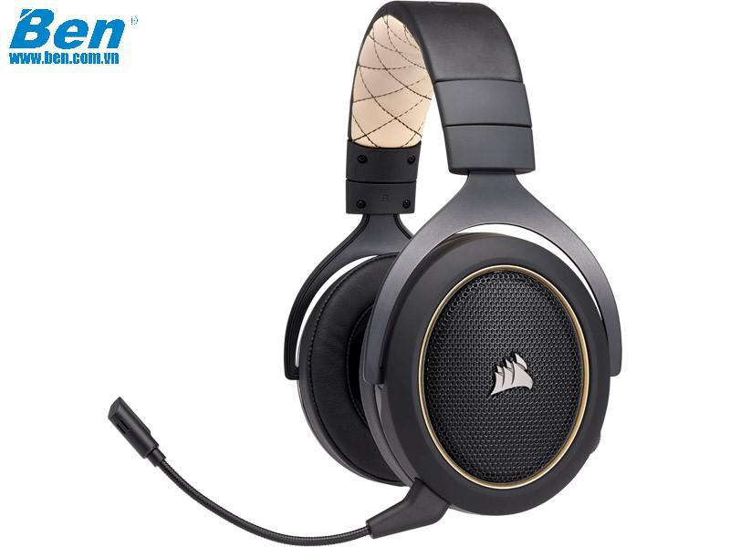Tai Nghe Corsair HS70 SE Wireless Gold