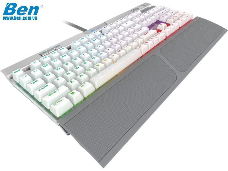 Bàn Phím Cơ Corsair K70 MK2 SE RGB (Cherry Speed Silver Switch)
