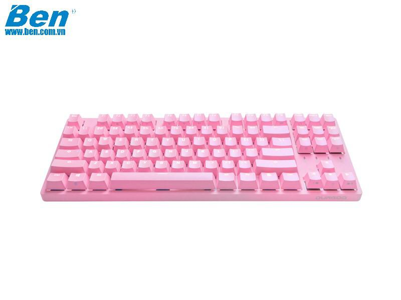 Bàn Phím Cơ Durgod Taurus K320 Corona Sweet Pink Limited Edition (Silent Red Cherry Switch)