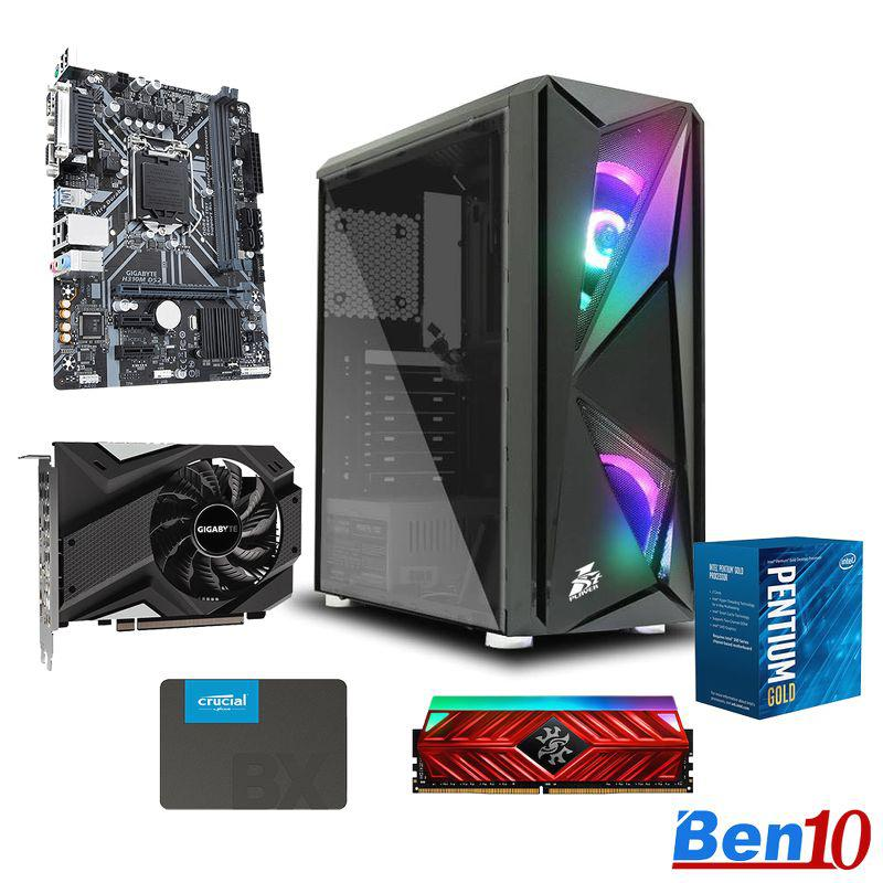PC Ben10 Gaming GG01/ H410/ G6400/ RAM 8GB/ SSD 240GB/ GTX1650/ 450W