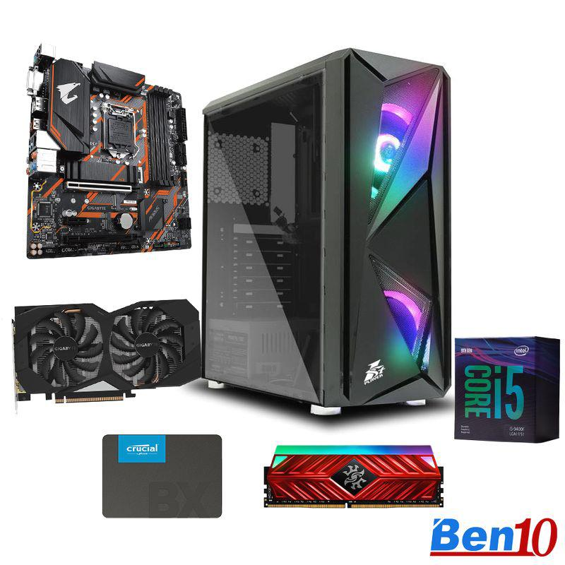 PC Ben10 Gaming GG04/ B460M/ Core I5/ RAM 8GB/ SSD 240GB/ GTX1660/ 500W