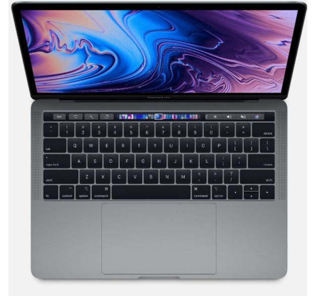 Laptop Apple Macbook Pro 13 MXK52SA/A/ Grey/ Intel Core i5 1.4GHz quad-core/ Ram 8GB/ SSD 512GB/ Intel Iris Plus Graphics/ 13.3 inch/ Mac OS/ 1Yr
