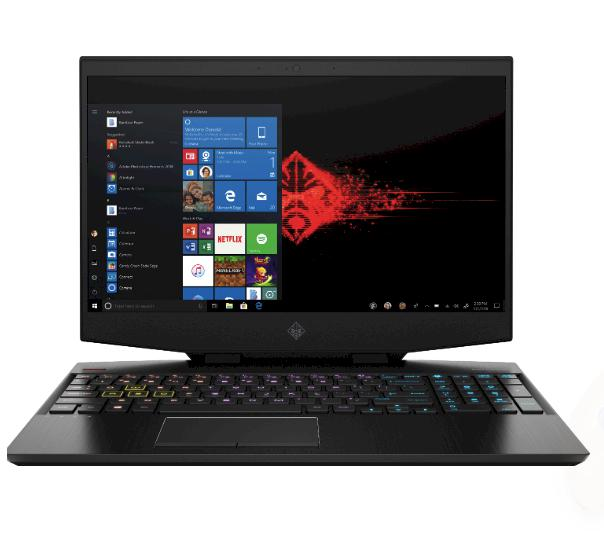Laptop HP Omen 15-dh0172TX (8ZR42PA)/ Black/ Core i7/ 16GB/ 512GB+1TB/ RTX2070 8GB/ Win10H