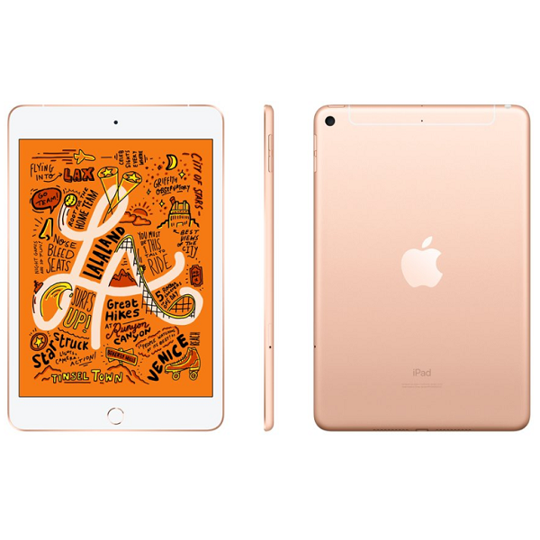 Máy tính bảng Apple iPad mini Wi-Fi + Cellular 64GB - Gold MUX72ZA/A