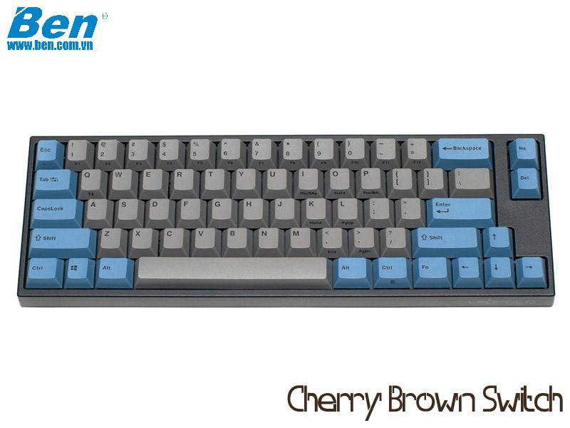 Bàn Phím Cơ Leopold FC660M PD Blue Grey (Cherry Brown Switch)