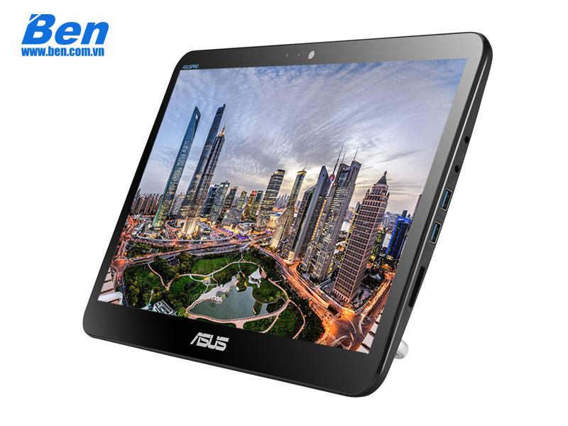 All In One Asus V161GAT-BD033D/ Black/ Intel celeron N4000 (1.10 GHz, 4MB)/ Ram 4GB DDR4/ 128 GB SSD/ 15.6 Inch HD Touch/ Intel UHD Graphics 600/ WC + WL + BT/ Linux/ 2 Yr