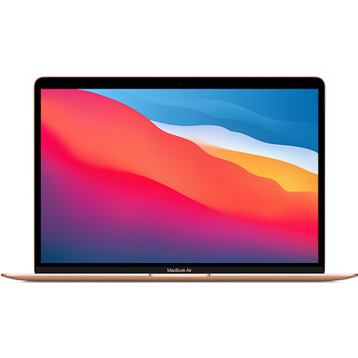 Laptop Apple Macbook Air Z12A0004Z/ Gold/ M1 Chip / RAM 16GB/ 256GB SSD/ 13.3 inch Retina/ Touch ID/ Mac OS/ 1 Yr