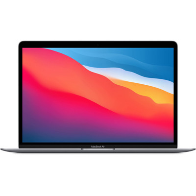 Laptop Apple MacBook Air Z124000DE/ Space Grey/ M1 Chip/ RAM 16GB/ 256GB SSD/ 13.3 inch Retina/ Touch ID/ Mac OS/ 1 Yr