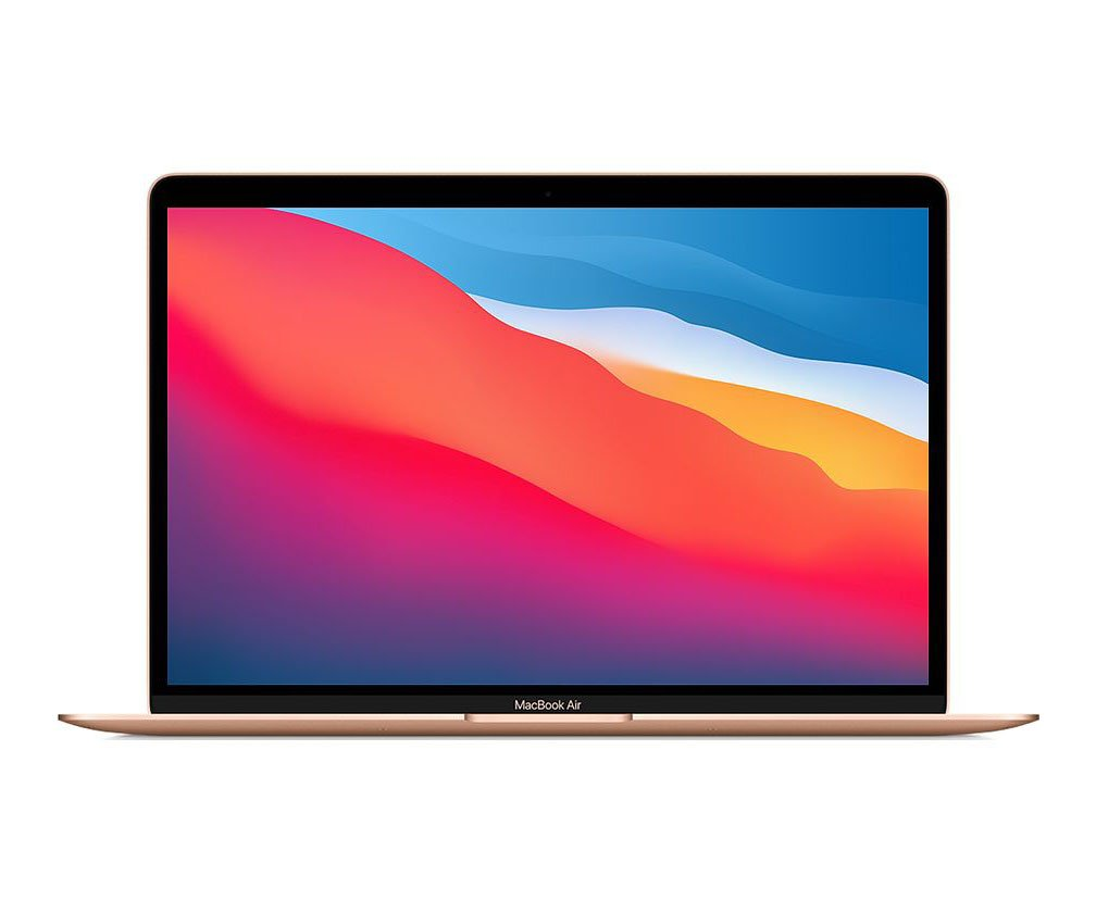 Laptop  Apple Macbook Air MGND3SA/A/ Gold/ M1 Chip/ RAM 8GB/ 256GB SSD/ 13.3 inch Retina/ Touch ID/ Mac OS/ 1 Yr