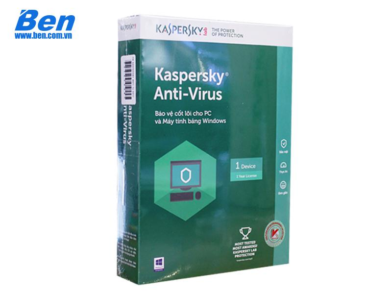 PM Kaspersky Anti Virus (1User) 1PC - 1year