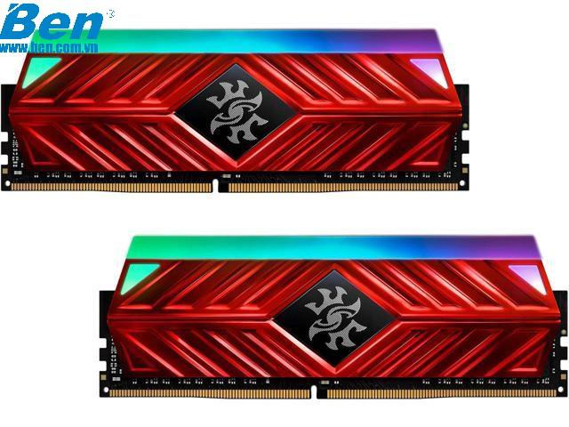 Ram PC Adata 8Gb bus 3000Mhz XPG SPECTRIX D41 X Heatsink LED RGB (SR41) đỏ