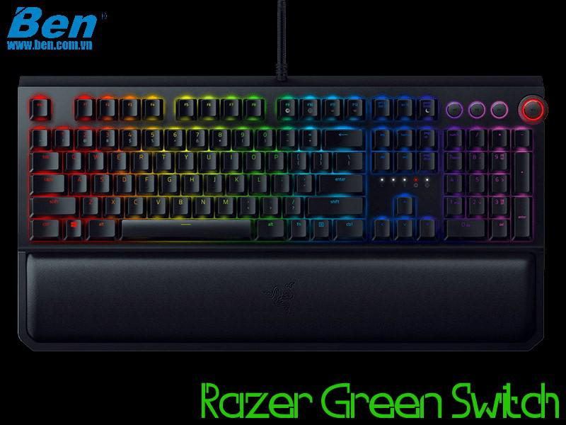 Bàn Phím Cơ Razer BlackWidow Elite (Green Switch)