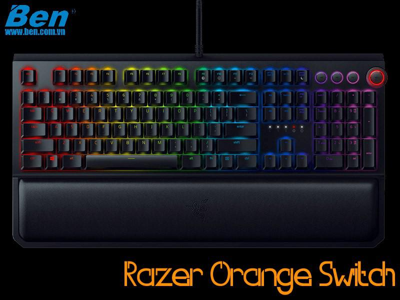 Bàn Phím Cơ Razer BlackWidow Elite (Orange Switch)