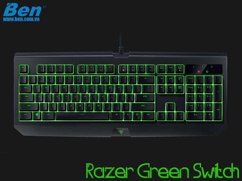 Bàn Phím Cơ Razer BlackWidow Ultimate (Green Switch)