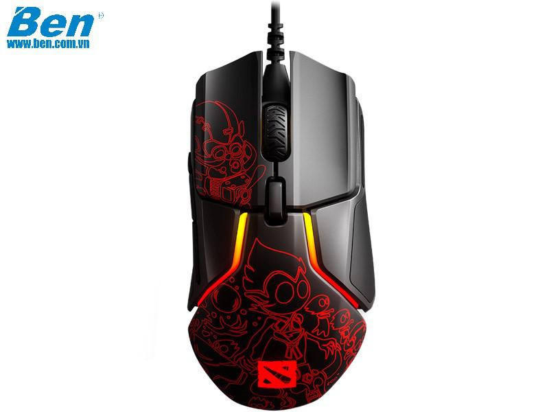 Chuột SteelSeries Rival 600 Ti 9 Dota 2 Edition