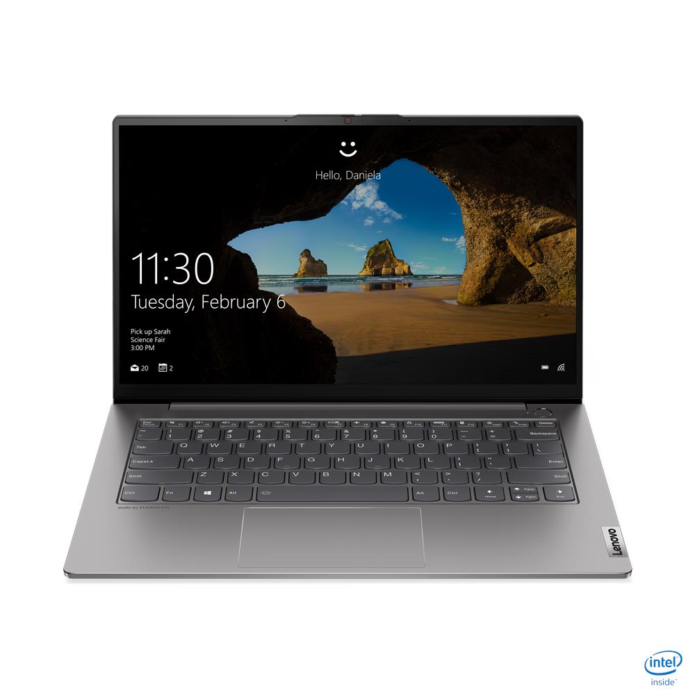 Latop Lenovo ThinkBook 14s G2 ITL (20VA000NVN)/ Grey/ Intel Core i5-11135G7 (4.2GHz, 8MB)/ Ram 8GB DDR4/ SSD 512GB/ Intel Iris Xe Graphics/ 14.0 inch FHD/ 4Cell/ Win10SL/ 1Yr