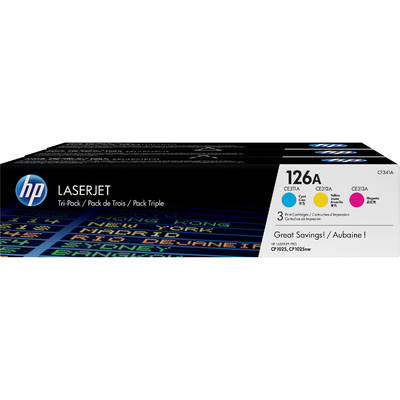 Mực In Laser Màu HP 126A CYM Original LaserJet Toner Cartridge (CF341A)