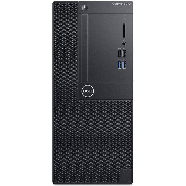 Dell OptiPlex 3070 Minitower (42OT370006)/ Intel Core i5-9500 (3.00GHz, 9MB)/ Ram 8GB (1X8GB) DDR4/ SSD 256GB/ DVDRW/ Intel UHD Graphics/ NWL/ Linux/ 1Yr