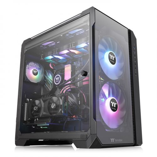 Vỏ case máy tính Thermaltake View 51 Tempered Glass Snow ARGB Edition