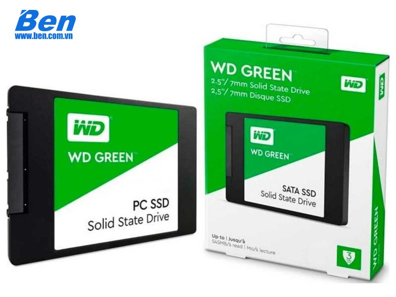 ổ cứng gắn trong SSD Western 480GB sata 3 (WDS480G2G0A)